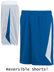 "Youth 8"" Inseam ""Overload"" Moisture Control Reversible Basketball Shorts A1176HOP"