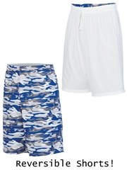 "Youth 8"" Inseam ""Camo Redefined"" Moisture Control Reversible Basketball Shorts A1407CAMOHOP"