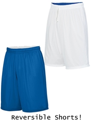 "Youth 8"" Inseam ""Redefined"" Moisture Control Reversible Basketball Shorts A1407HOP"