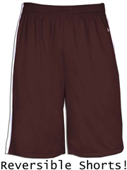 "Youth 6"" Inseam ""3 Point"" Moisture Control Reversible Basketball Shorts BGR2243HOP"