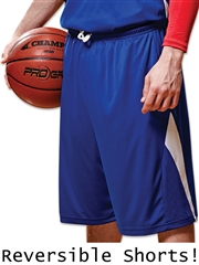 "Youth 7"" Inseam ""Rebounder"" Moisture Control Reversible Basketball Shorts CBBS14YHOP"