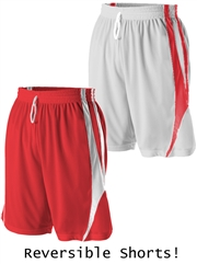 "Youth 7"" Inseam ""Desire"" Moisture Control Reversible Basketball Shorts D54MMPYHOP"