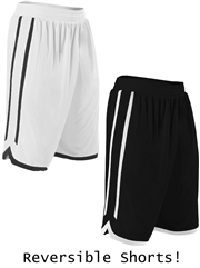 "Youth 8"" Inseam ""Explode"" Moisture Control Reversible Basketball Shorts D588PYHOP"