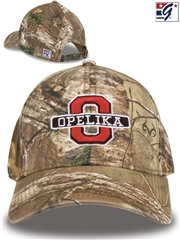 """The Game Headwear - Realtree Low Pro"" Baseball Cap w/ Your Team Logo GB277BAS-C"