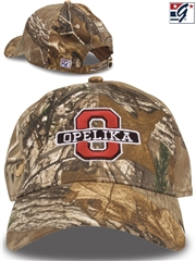 """The Game Headwear - Realtree Relaxed"" Baseball Cap w/ Your Team Logo GB278BAS-C"
