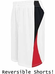 "Youth 8"" Inseam ""Lightweight Flyer"" Reversible Basketball Shorts H335851HOP"