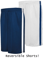 "Youth 8"" Inseam ""Technical"" Reversible Moisture Control Basketball Shorts H335871HOP"