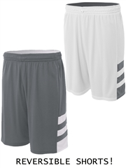 "Youth 8"" Inseam ""Speedway"" Moisture Control Reversible Basketball Shorts NB5334HOP"
