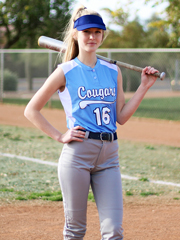 "Womens ""Twister"" Sleeveless Two-Button Softball Uniform Set With Pants NW3318SOF-SETP"