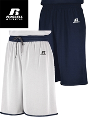 "Youth 6"" Inseam ""Ultra Lightweight Drop Step"" Single-Ply Moisture Control Reversible Basketball Shorts R5R8DLBHOP"