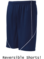 "Youth 7"" Inseam ""Charge"" Moisture Control Reversible Basketball Shorts SYT565HOP"