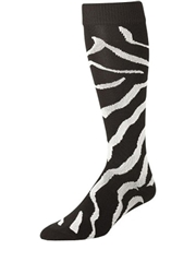 Zebra Over the Calf Sock TCLPZSOC