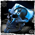 Ace Metal Works Ring: Ace Ming Skull Large - Titanium
