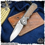 Chris Reeve Knives: Inkosi Small Insingo Inlay - Natural Micarta