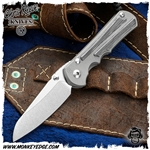 Chris Reeve Knives: Inkosi Large Insingo Inlay - Black Canvas Micarta
