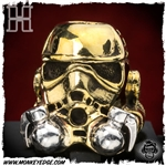 Hiraeth Custom Jewelry Bead: Big Brother Grenadier - Brass/Silver
