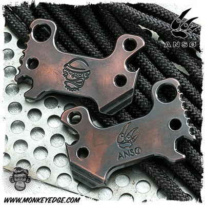 Anso Knives Pry-M8 Copper Multitool - MONKEY EDGE EXCLUSIVE