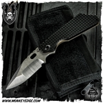 Mick Strider Custom SMF Nightmare Grind - Two Tone Textured/Flamed w/Monkey Edge FRAG Pattern