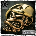 Starlingear Bead: Beret Monkey w/Star Copper/Brass