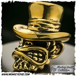Starlingear Bead: Bill the Butcher Monkey All Brass