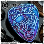 Starlingear McSwain Guitar Pick: Sta Cool Oil - Titanium