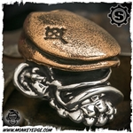 Starlingear Bead: Irish Monkey Limited - Silver/Copper Textured