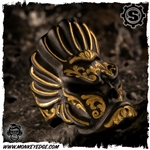 Starlingear Ring: Native Puncher - Iron Takeuchi Engraved w/24k Gold