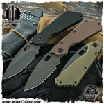 Strider Knives Folder: SMF Standard Cerakote (PD-1)