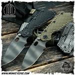 Strider Knives Folder: SMF Concealed Carry 3/4 Grind Flamed/Striped (CTS B75P)
