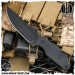 Strider Knives Fixed: MV w/G10 Cerakote Black