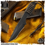Strider Knives Fixed: Recurve Hand Ground Small Run - Black