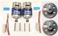 Stage IV Roll Play Motors w/ Steel First Gears