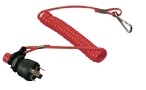 Universal Kill Switch w Coiled Lanyard