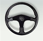 Corse Steering Wheel - Black