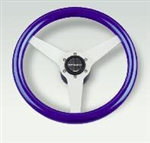Ponza Steering Wheel (Silver blue)