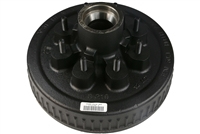 "5,200 - 7,000 lb 8-Bolt Electric Brake Drum - 1/2"" Studs"