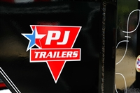 Large PJ Trailers Logo Sticker
