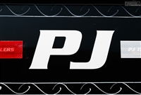 Large PJ Trailers Letter Logo Sticker