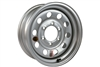"15"" Silver Steel Modular Wheel 6-lug on 5.5"""