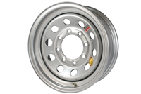 "16"" Silver Steel Modular Wheel 8-lug on 6.5"""