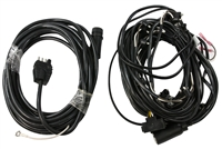 PJ 12' 14' Utility Trailer Complete Wiring Kit