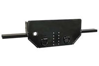 Buyers Flatbed Hitch Plate & Bumper
