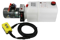 KTI Single Action Hydraulic Pump with Remote