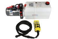KTI Triple Action Hydraulic Pump with Remote