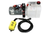 KTI Dual Action Hydraulic Pump with Remote - 3 qt Tank