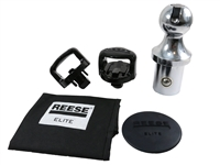 Reese Elite Ford Gooseneck Ball & Safety Anchor Kit - 30137