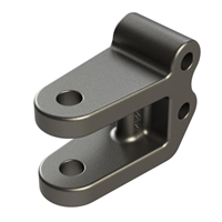 "12,000 lb Adjustable Clevis Hitch - 3/4"" Pin Hole"