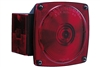 Rectangular Incandescent Stop Turn Tail Light & License Light