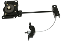 "Undermount Spare Tire Winch 11"" Cable Arm Extension"