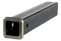"CURT 2"" Raw Steel Receiver Tube"